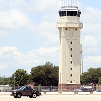 Barksdale Air Force Base Air Traffic Control Tower