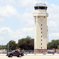 Barksdale Air Force Base Air Traffic Control Tower