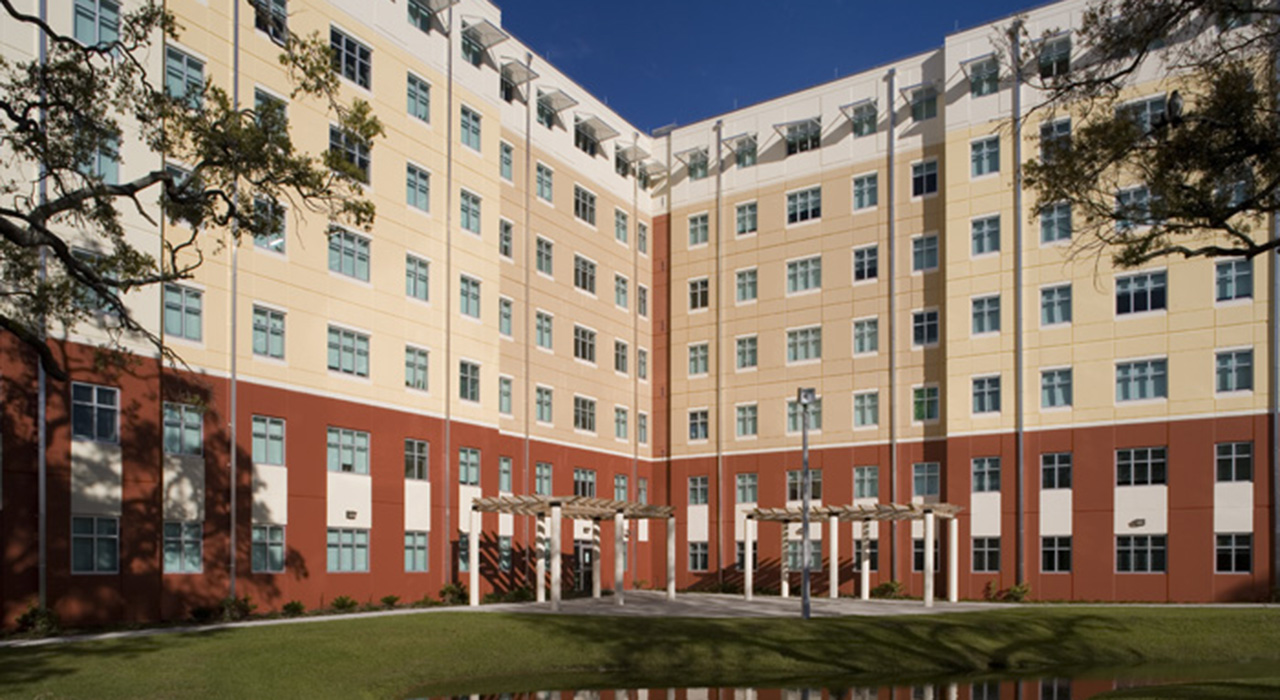 University of South Florida – Student Residential Facility, Phases I, II & III